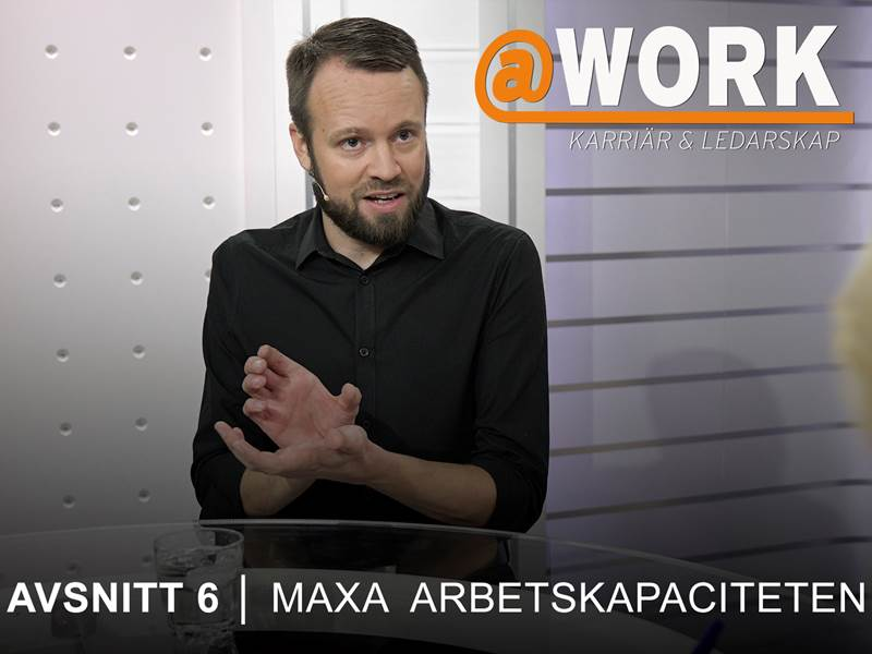 Mattias RIbbing i @Workstudion.